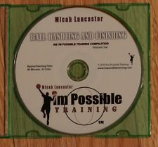 Micah Lancaster Ball Handling and Finishing Dvd Retails $25 on iamtraining site