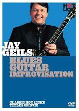 Jay Geils Blues Guitar Improvisation DVD NEW 014016911