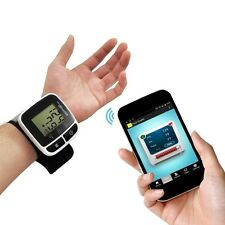 NEW Pyle PHBPBW40 Bluetooth Wrist Blood Pressure Monitor Free iPhone/Android App