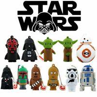 Star Wars USB Flash Drive Thumb USB Memory Stick U Disk PenDrive 4 8 16 32 64 GB
