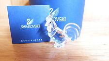 Swarovski Silver Crystal - Zodiac Rooster - #625189 - Box and Cert.