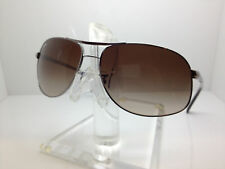 AUTHENTIC RAYBAN RB 3387 004/13 67MM GUNMETAL/GRADIENT BROWN LENS