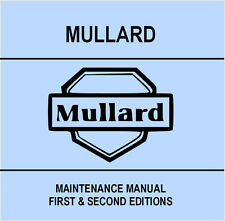 Mullard Maintenance Manual - DVD - Valve Tube - Transistor - Test Tester Data