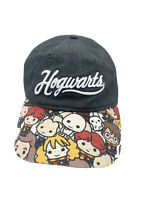 Harry Potter Women's HOGWARTS Chibi Character Chambray Baseball Hat Hermione Ron