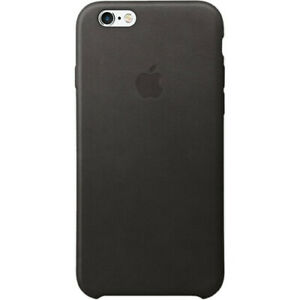 Genuine APPLE iPhone 6 / 6s Natural Leather Back Case    Black    MKXW2ZM/A