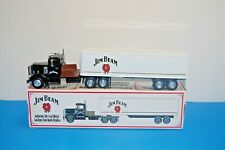 Ertl Jim Beam 1948 Peterbilt Tractor-Trailer Die-Cast Metal Locking Coin Bank