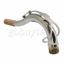 Port B Flat Tenor Saxophone Elbow Bend Neck for Tenor Saxophone Silver