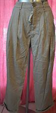 joli pantalon à pinces femme HIGH USE ex GIRBAUD taille 42 fr 40D W32 NEUF