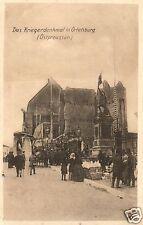 2808/ Foto AK, Ortelsburg, Kriegerdenkmal, ca. 1915