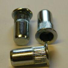 10 Stk Edelstahl A2 Blindnietmuttern M5x18 kleiner Senkkopf geschlossen 0,5-3mm
