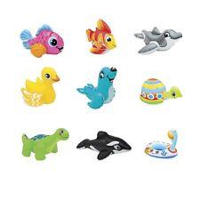 Intex Wasserspieltiere Puff'n Play 9-fach sortiert Badewannen Tiere 1 Stück NEU