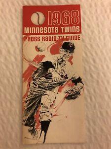 1968 MINNESOTA TWINS Media PRESS Guide ROD CAREW Tony OLIVA Harmon KILLEBREW