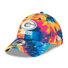New 2020 NFL Men's Green Bay Packers New Era Multi-Color Hat Crucial Catch - S/M