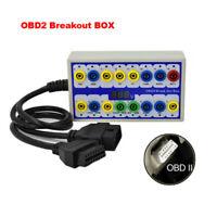 16PIN Connector EOBD Protocol Detector & OBD2 Breakout BOX Car Diagnostic Tool