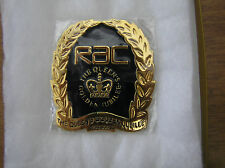 NEW IN ITS BOX 2002 RAC Limited Edition (1000 only) Golden Jubilee Car Badge
