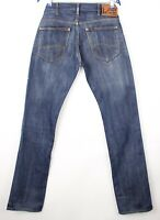 Lee Hommes Knox Slim Jambe Droite Jeans Extensible Taille W32 L36 AVZ859