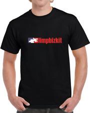 Limp Bizkit Simple Logo Men's Black T-Shirt Size S - 3Xl