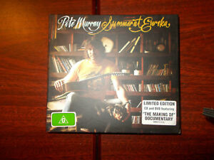 PETE MURRAY Summer At Eureka digipak CD + DVD limited edition