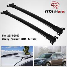 more photos 4a6ba 15c0a Top Roof Rack Rail Cross Bar For 2010-2017 Chevy Equinox   GMC Terrain  Aluminum