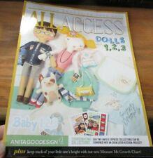 Anita Goodesign All Access VIP Club June 2018 Embroidery Design Book & Unused CD