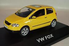 Schuco 1/43 Volkswagen VW Fox gelb OVP #577