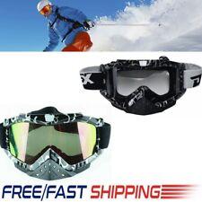 Snow Googles Windproof UV400 Motorcycle Snowmobile Snow Ski Sunglasses Helmet AU