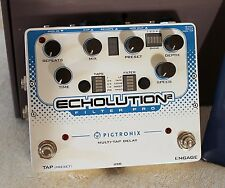 Pigtronix Echolution 2 Filter Pro Delay New in Box Guitar Pedal NIB