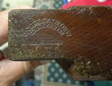 New ListingAntique Woodworking Plane #123 Union Factory H. Chapin Beading Plane Rare 3/4""