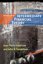 Intermediate Financial Theory (Academic Press Advanced Finance), Good Condition