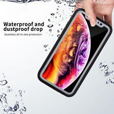 iPhone XS MAX XR 360° Waterproof Dustproof Hybrid Rubber Shockproof Case Cover