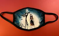 The Nightmare Before Christmas Jack Skellington & Sally Face Mask New in Package