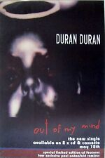 "DURAN DURAN ""OUT OF MY MIND"" U.K. PROMO POSTER - New Wave Music Legends"