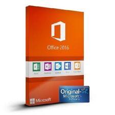Microsoft Office 2016 Pro Professional Plus 100% GENUINE PRODUCT KEY 32-64 bits
