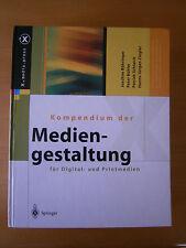 Kompendium der Mediengestaltung für Digital- und Printmedien - Buch geb.
