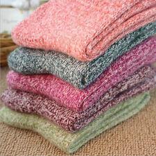 AU Stock 5 Pairs Womens Cashmere Wool Thick Warm Socks Winter Fashion Lady SOCK