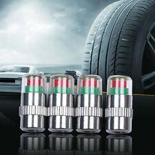 4Pcs Car Auto Tire Monitor Valve Dust Cap Pressure Indicator Sensor Eyes Alert