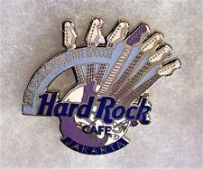 HARD ROCK CAFE JAKARTA 7TH ANNIVERSARY SEVEN GUITAR NECKS GUITAR PIN # 3817