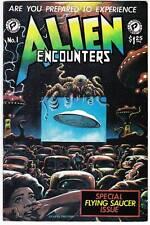 Alien Encounters #1 - 1981 comic book - Mike Zeck, Steve Bissette, Tom Yeates