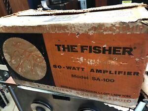 Fisher SA-100 stereo tune amplifier