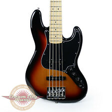 Brand New Fender Deluxe Active Jazz Bass V Maple Fingerboard in 3 Color Sunburst