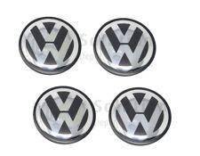 Set of 4 Center Wheel Caps for Volkswagen 70MM 7L6601149B Chrome VW TOUAREG