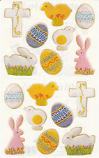 Mrs. Grossman's Giant Stickers - Photo Easter Cookies - Egg, Chick - 2 Strips
