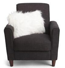 "Thro Marlo Lorenz Mongolian Faux Fur Pillow Bright White 22"" x 14"" Shaggy NWT"