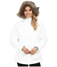 COLUMBIA WOMENS M SNOW ECLIPSE FAUX DOWN INSULATED WINTER JACKET WARM!!