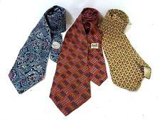 Hermes Dior Ermenegildo Zegna Necktie Tie 3 Set 100% Business Accessory