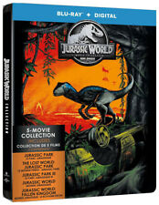 JURASSIC WORLD (5 MOVIE COLLECTION) (BLU-RAY / DIGITAL HD) (BLU-RAY) ( (BLU-RAY)