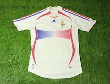 FRANCE NATIONAL TEAM 2006/2007 FOOTBALL SOCCER SHIRT JERSEY AWAY ORIGINAL SIZE S