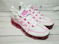 Nike Air Vapormax 2019 Pink White Running Shoes AR6632-105 Women's Size 6.5