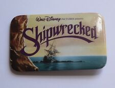 "Vintage Walt Disney ""Shipwrecked"" Promo Movie Pin Pirate Ship Collectible"