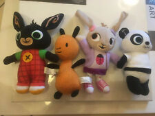 Bing, Flop, Sula And Pando Plush Toys